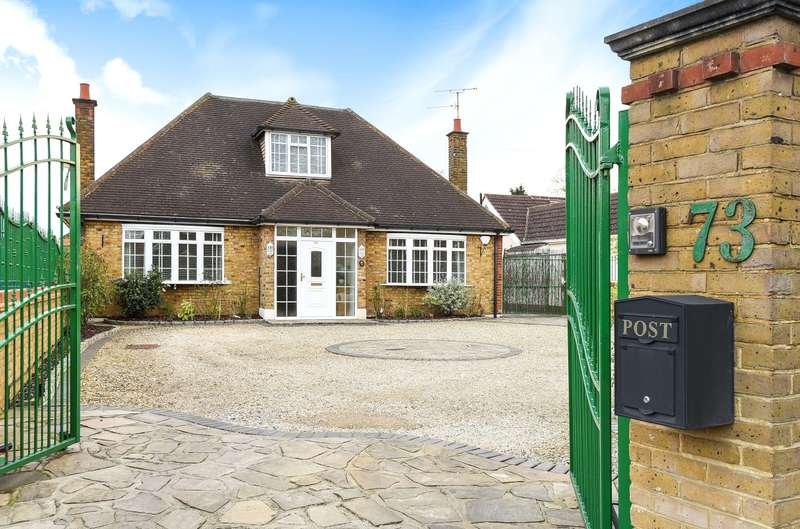 4 Bedrooms Detached House for sale in Hercies Road, Hillingdon, Middlesex, UB10