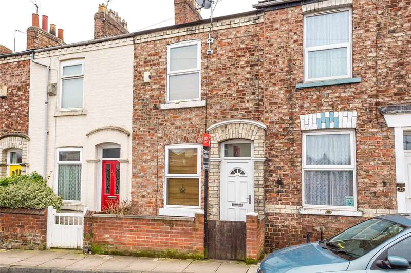 2 Bedrooms Terraced House for sale in Field View, York, YO30