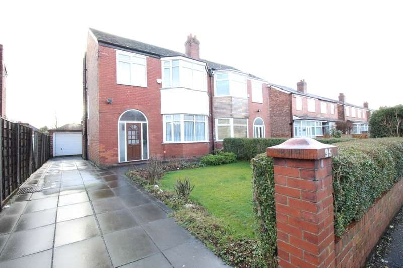 3 Bedrooms Semi Detached House for sale in Manley Road, Manchester, M16