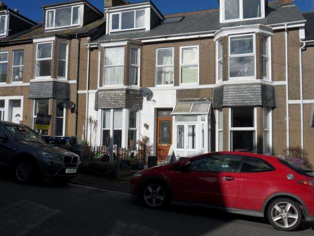 5 Bedrooms Terraced House for sale in Ayr Terrace, St. Ives, Cornwall