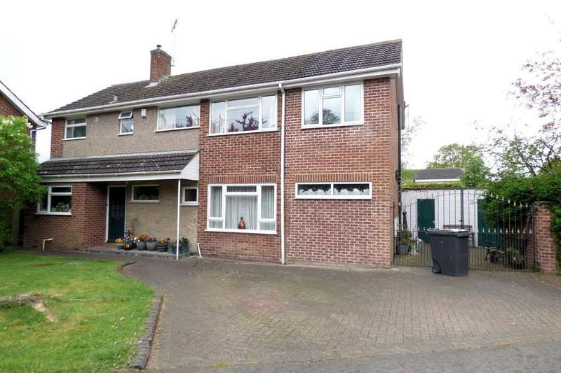 4 Bedrooms Detached House for sale in Oaklands Road, Etwall