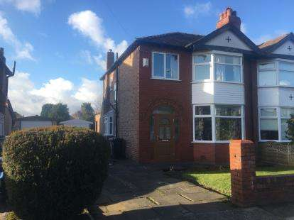 3 Bedrooms Semi Detached House for sale in Edale Grove, Sale, Trafford, Greater Manchester