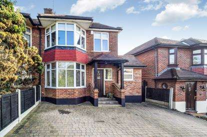 4 Bedrooms Semi Detached House for sale in Hill, Epping, Essex