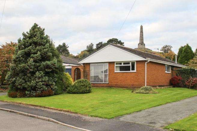 3 Bedrooms Detached Bungalow for sale in 16 Church Meadow, Lilleshall, Newport, Newport, TF10 9HD