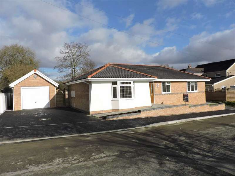 3 Bedrooms Detached Bungalow for sale in Aberlash Road, Ammanford