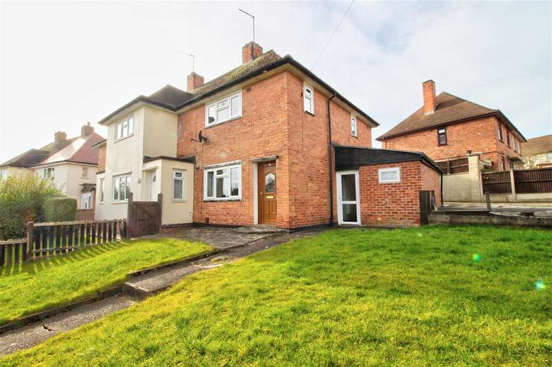 2 Bedrooms Semi Detached House for sale in Dovedale Circle, Ilkeston