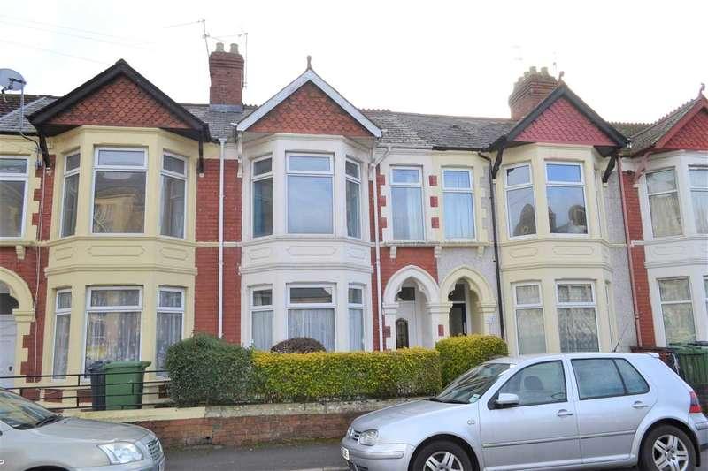 3 Bedrooms Terraced House for sale in LLANISHEN STREET, HEATH, CARDIFF