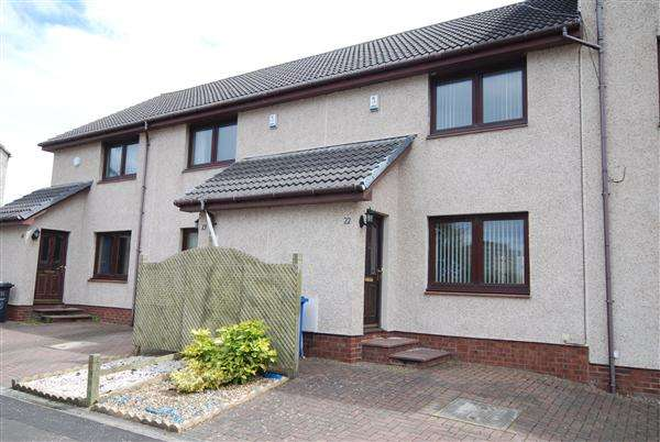 2 Bedrooms Terraced House for sale in Springvale Court, Saltcoats