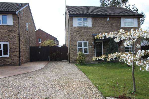 2 Bedrooms Semi Detached House for rent in Appletree Grove, Great Sutton, Ellesmere Port