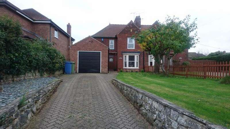 3 Bedrooms Semi Detached House for sale in Eastfield Cottage, Blyth Road, Oldcotes