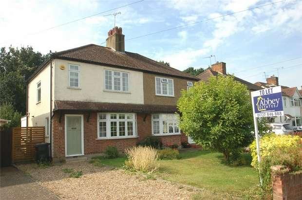 3 Bedrooms Semi Detached House for rent in Linden Crescent, St. Albans, Hertfordshire