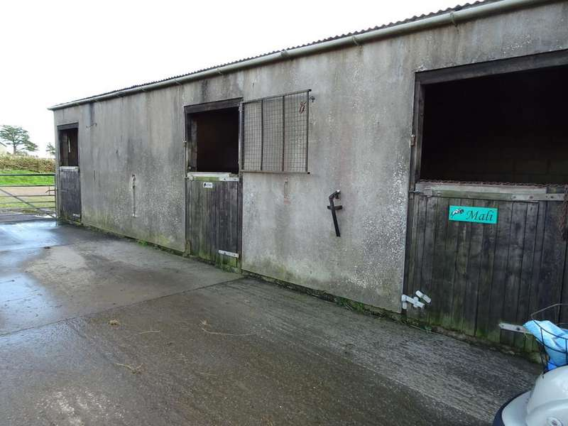 Land Commercial for sale in Approx. 17.78 Acres of Land and Stables Lying East of St Athan Road, St Mary Church, Cowbridge