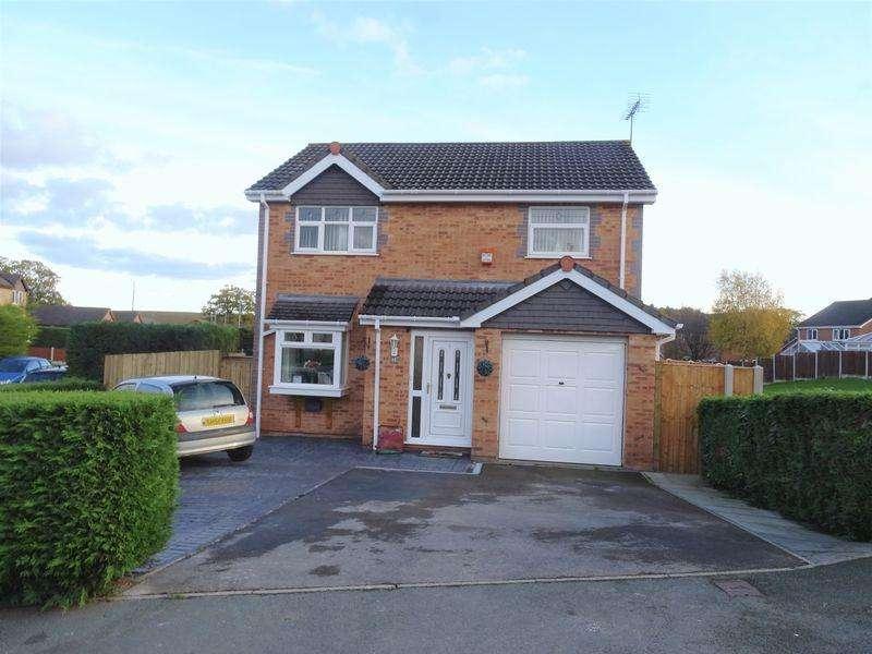 3 Bedrooms Detached House for sale in Kempton Way, Wrexham