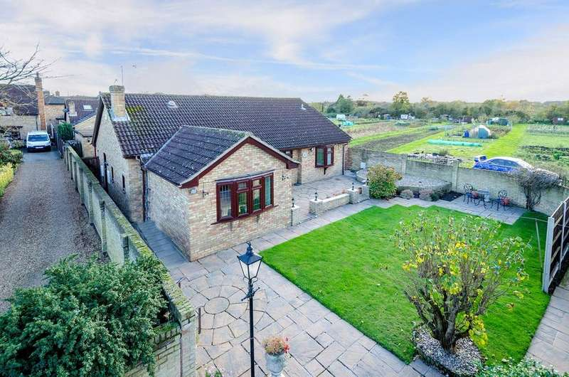 3 Bedrooms Detached Bungalow for sale in Joes Close, Greenfield, MK45