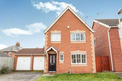 3 Bedrooms Detached House for sale in Meadow Brown Road, Bobbersmill, Nottingham, Nottinghamshire