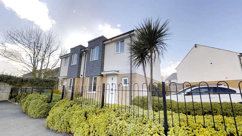 3 Bedrooms Semi Detached House for sale in Tavistock Road, Boundary Place, Roborough, Plymouth, PL6 7HE