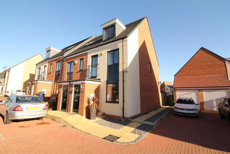3 Bedrooms End Of Terrace House for sale in Maynard Street, Newcastle Upon Tyne