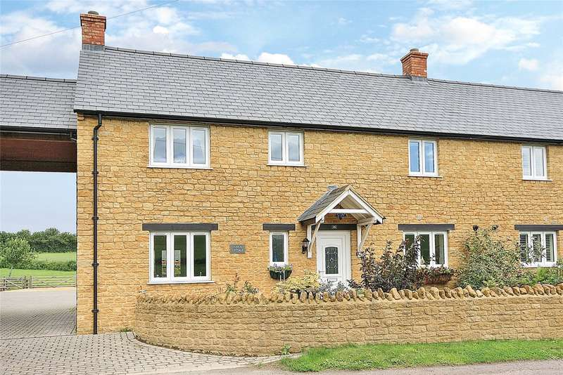 3 Bedrooms Semi Detached House for sale in Knott Oak, Townsend, Ilminster, Somerset, TA19