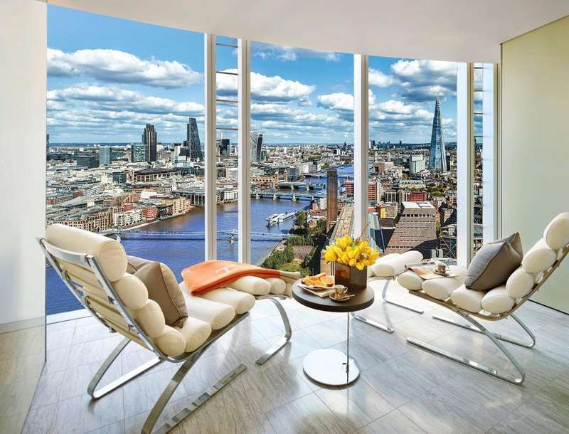 3 Bedrooms Apartment Flat for sale in One Blackfriars, Southbank, SE1