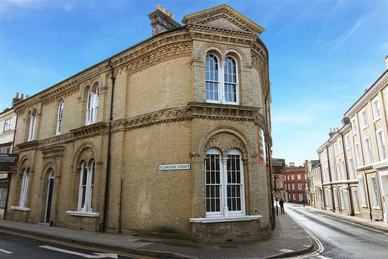 2 Bedrooms Apartment Flat for sale in Museum Street, Ipswich, Suffolk