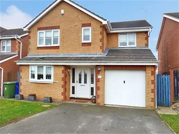 4 Bedrooms Detached House for sale in Chase Farm Drive, Blyth, Northumberland