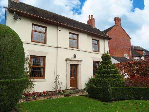 3 Bedrooms Detached House for sale in High Street, Gnosall, Stafford