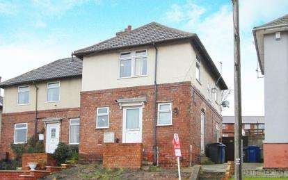 3 Bedrooms Semi Detached House for sale in Sycamore Road, Hollingwood, Chesterfield, Derbyshire