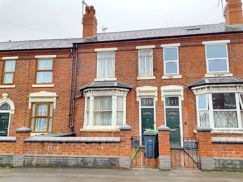 2 Bedrooms Terraced House for sale in BROMFORD LANE, WEST BROMWICH, WEST MIDLANDS, B70 7HR