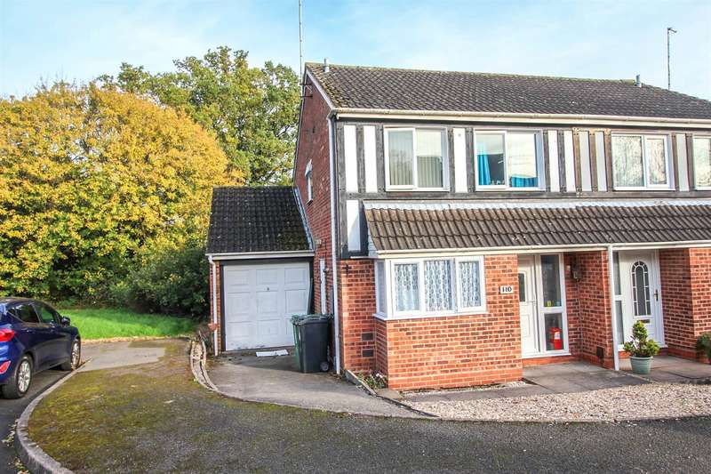3 Bedrooms Semi Detached House for sale in Redstone Close, Redditch