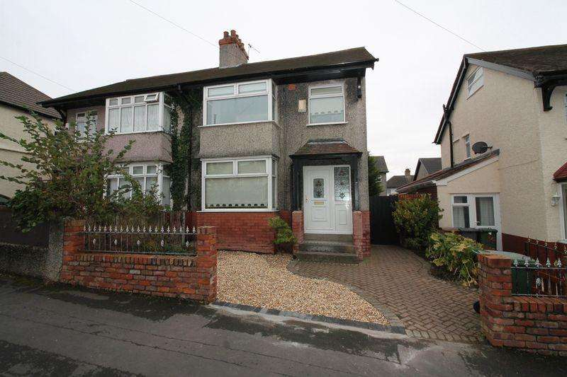 3 Bedrooms Semi Detached House for sale in Mallory Road, Prenton