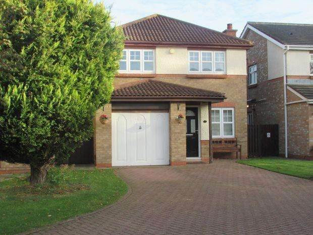 3 Bedrooms Detached House for sale in CHICHESTER CLOSE, FENS, HARTLEPOOL