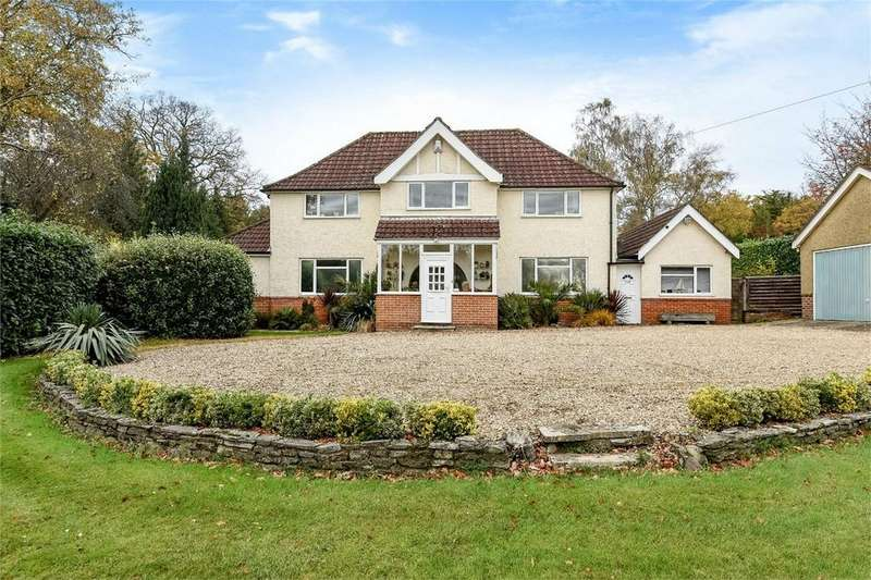 5 Bedrooms Detached House for sale in Winchester Road, Chandler's Ford, Hampshire