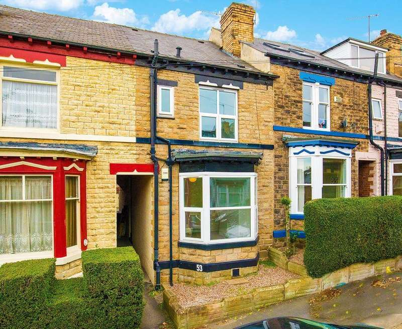 3 Bedrooms Terraced House for sale in 53 Tylney Road, Norfolk Park, Sheffield S2