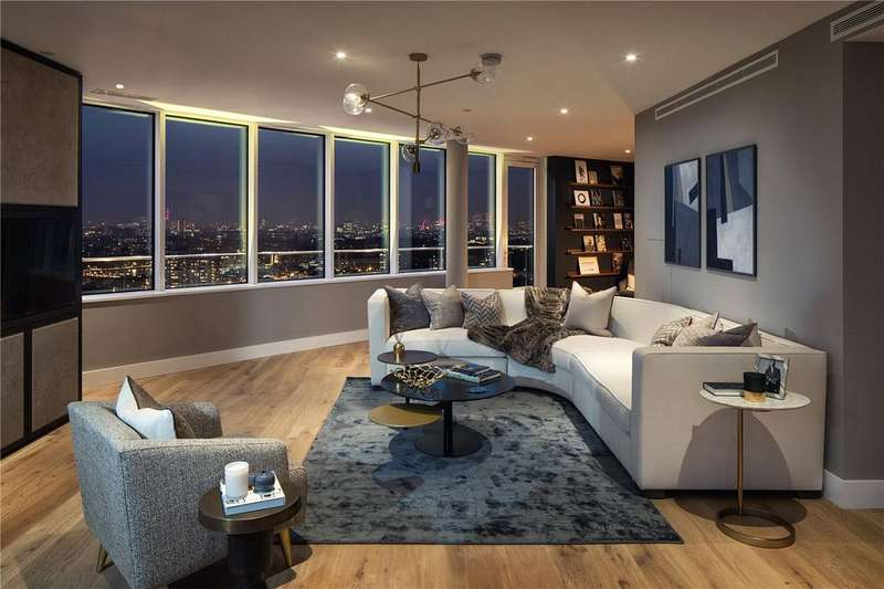 3 Bedrooms Flat for sale in Lombard Wharf, Battersea, London