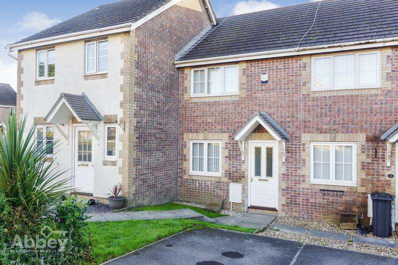 2 Bedrooms Terraced House for sale in Derlwyn, Waunceirch, Neath, SA10 7QU
