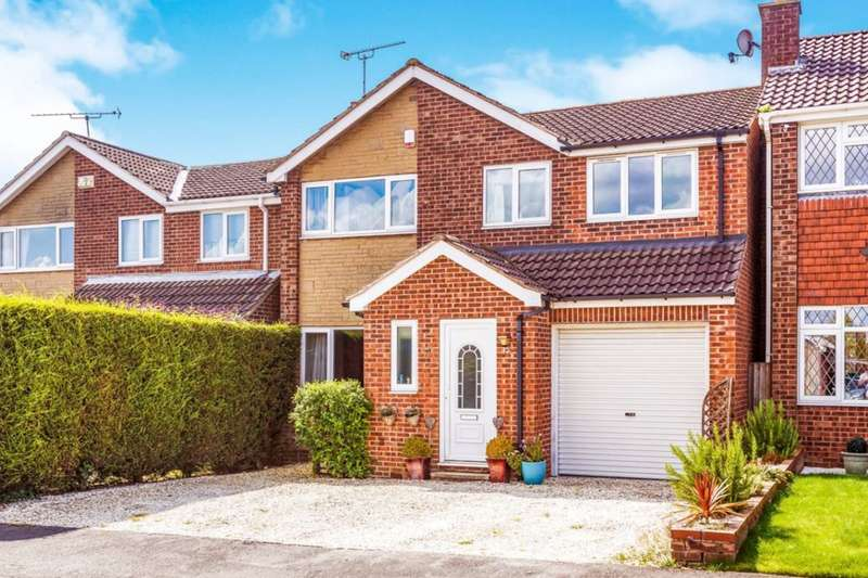4 Bedrooms Detached House for sale in Rydal Road, Dinnington, Sheffield, S25
