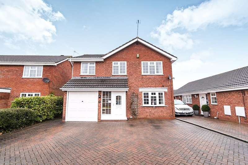 4 Bedrooms Detached House for sale in Brantwood Road, Droitwich, WR9