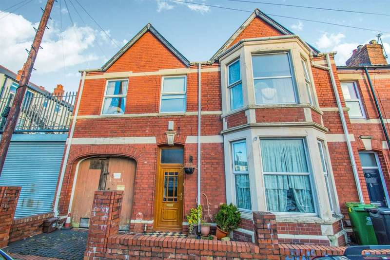 6 Bedrooms End Of Terrace House for sale in Nottingham Street, Cardiff