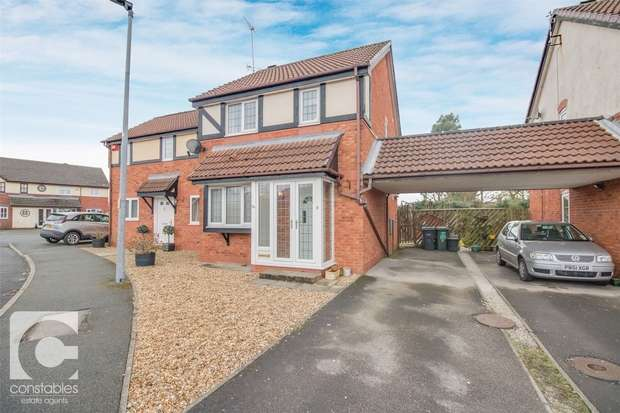 3 Bedrooms Semi Detached House for sale in Windermere Close, Little Neston, Neston, Cheshire