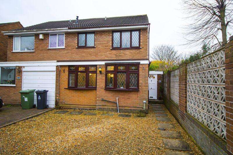 3 Bedrooms Semi Detached House for sale in Hilary Drive, Aldridge, Walsall