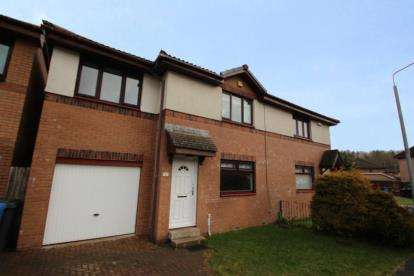 3 Bedrooms Semi Detached House for sale in Ben Garrisdale Place, Glasgow, Lanarkshire