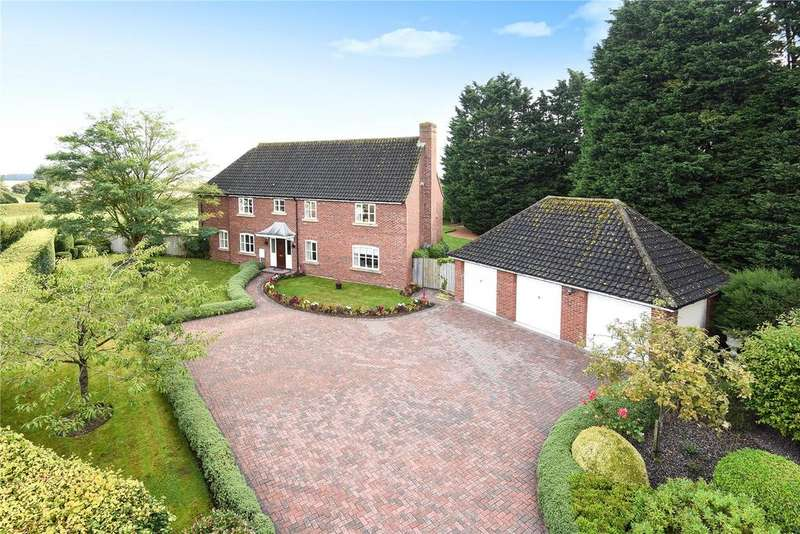 5 Bedrooms Detached House for sale in Vine Close, The Street, Coney Weston, Suffolk, IP31