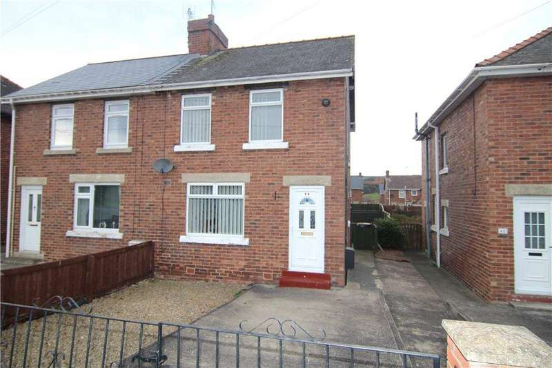 2 Bedrooms Semi Detached House for sale in Finings Avenue, Langley Park, Durham, DH7