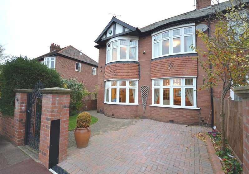 3 Bedrooms Semi Detached House for sale in Gosforth
