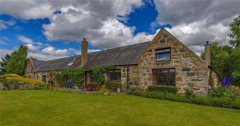 5 Bedrooms Detached House for sale in The Steading, Gellan, Strachan, Banchory, AB31