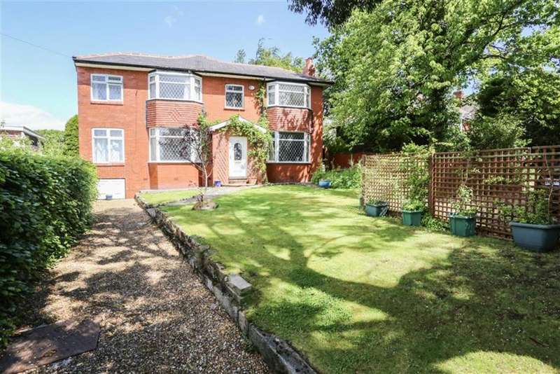 4 Bedrooms Detached House for sale in Glossop Road, Marple Bridge, Cheshire