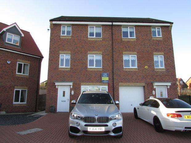 4 Bedrooms Semi Detached House for sale in MARINERS WAY, SEAHAM, SEAHAM DISTRICT