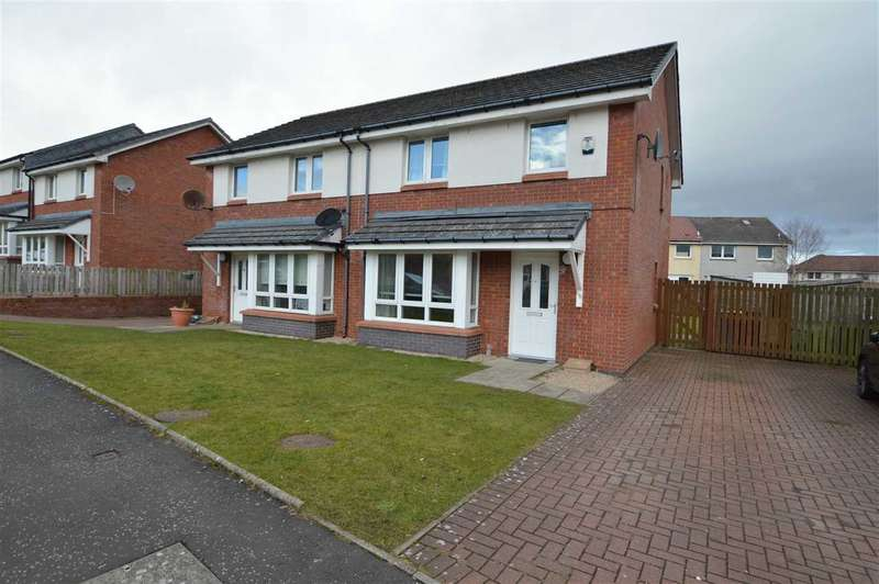3 Bedrooms Semi Detached House for sale in Whistleberry Wynd, Hamilton