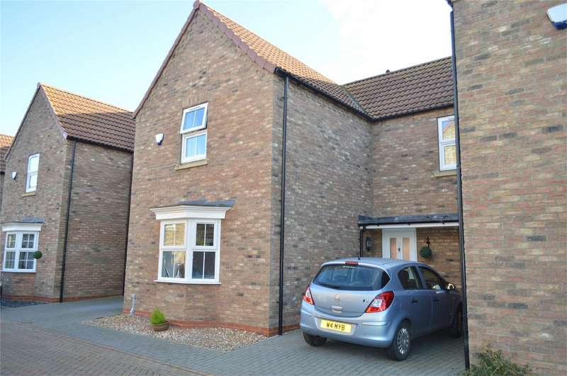 3 Bedrooms Link Detached House for sale in High Bow, Hornsea, East Riding of Yorkshire