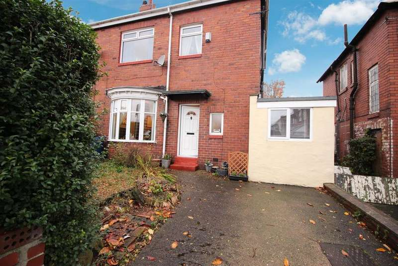 3 Bedrooms Semi Detached House for sale in Bruce Gardens, Newcastle Upon Tyne